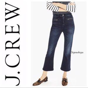 J. Crew Point Sur Denim Cropped Jeans